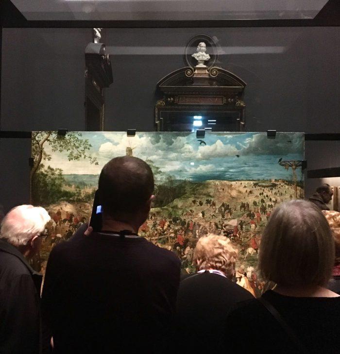 BRUEGEL exhibition view, Kunsthistorisches Museum, Vienna, 2018/19