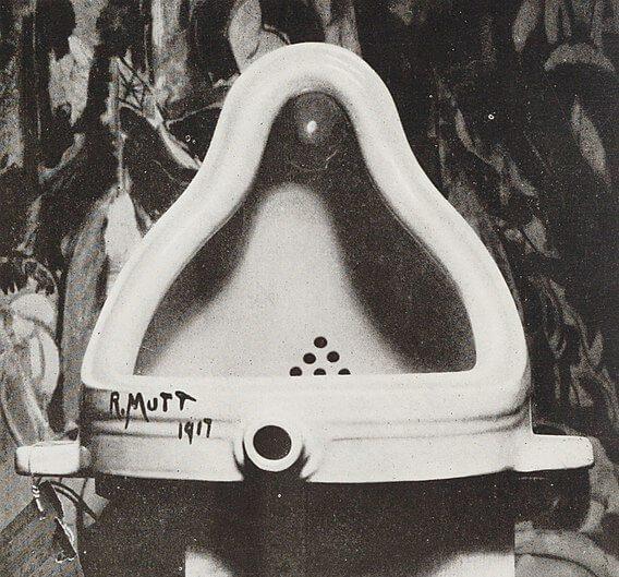 Marcel Duchamp / Fountain / 1917/1964 / Indiana University Art Museum, Bloomington / (c) Bildrecht