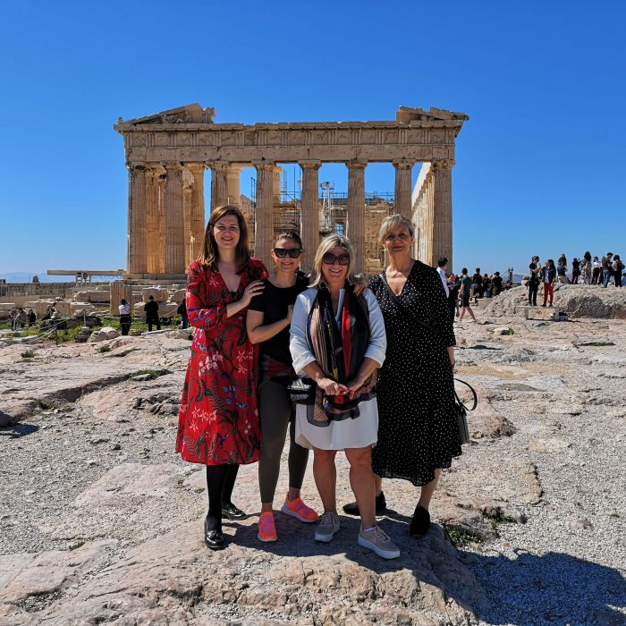 Girl Gang at the Acropolis