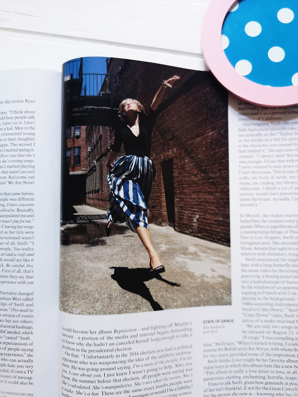 American Vogue / Sept 2019 / Taylor Swift Shooting