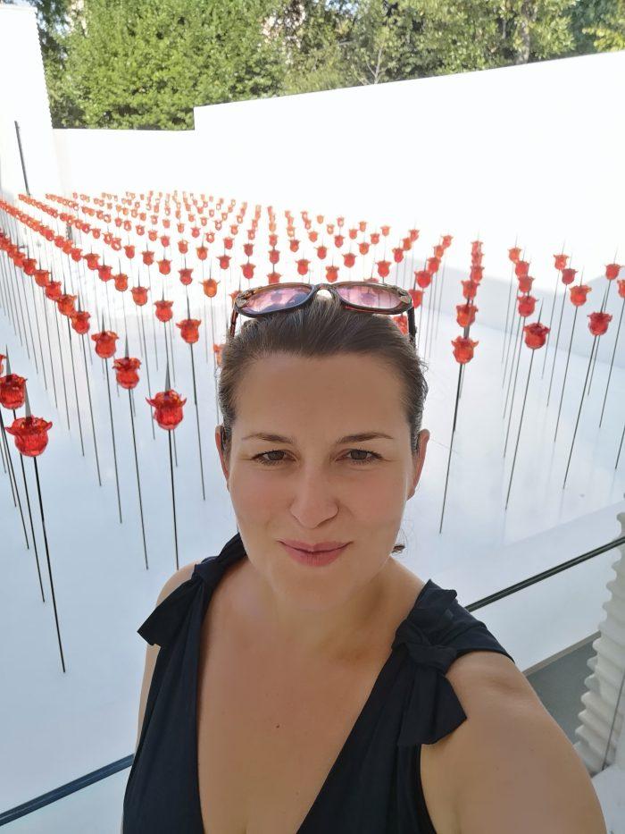 Renate Bertlmann's art installation at the Austrian pavilion