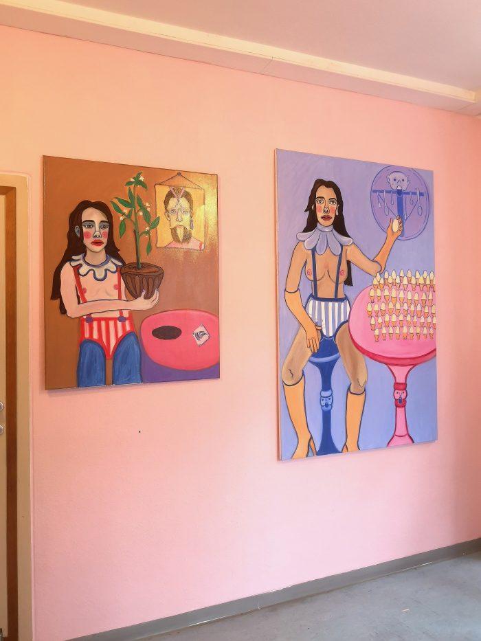 Barbara Mouras Ausstellungshalle