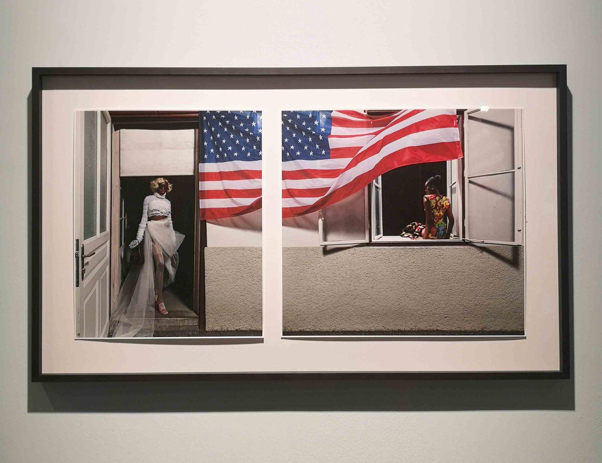 Fotografie in der Ausstellung ELFIE SEMOTAN im KUNST HAUS WIEN