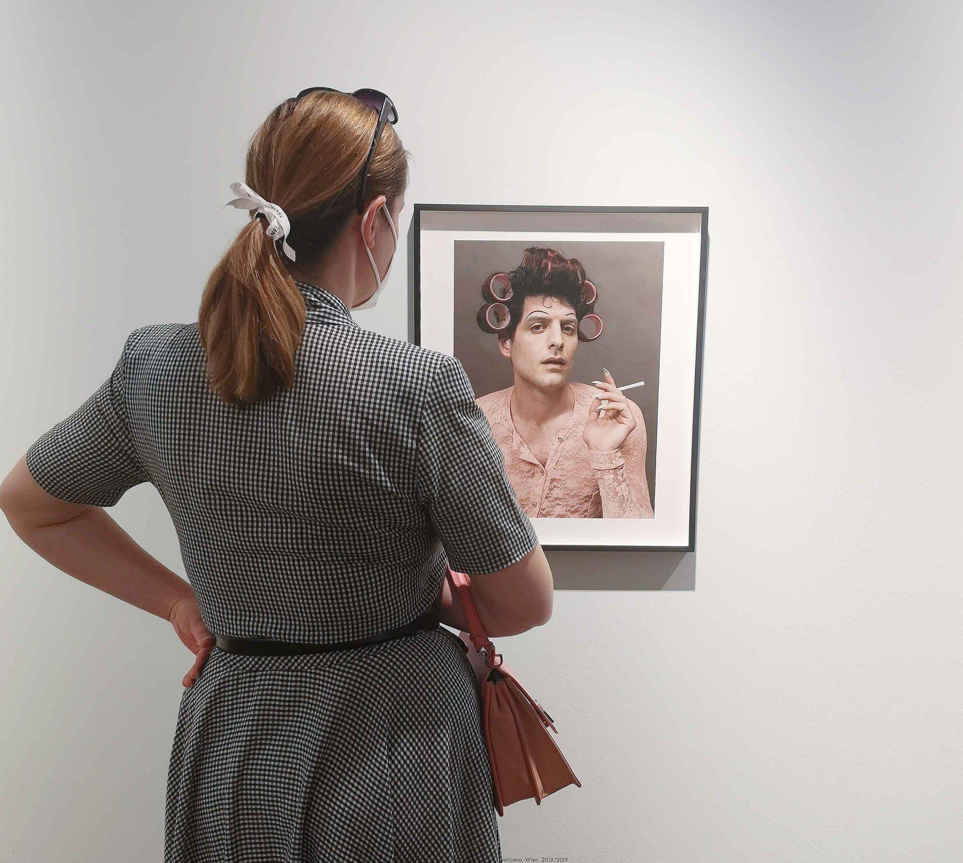 Ansicht aus der Ausstellung ELFIE SEMOTAN im KUNST HAUS WIEN