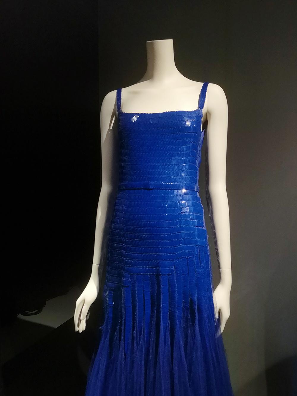 Evening dress (detail) / 1929-30 / Paris, Patrimoine de Chanel