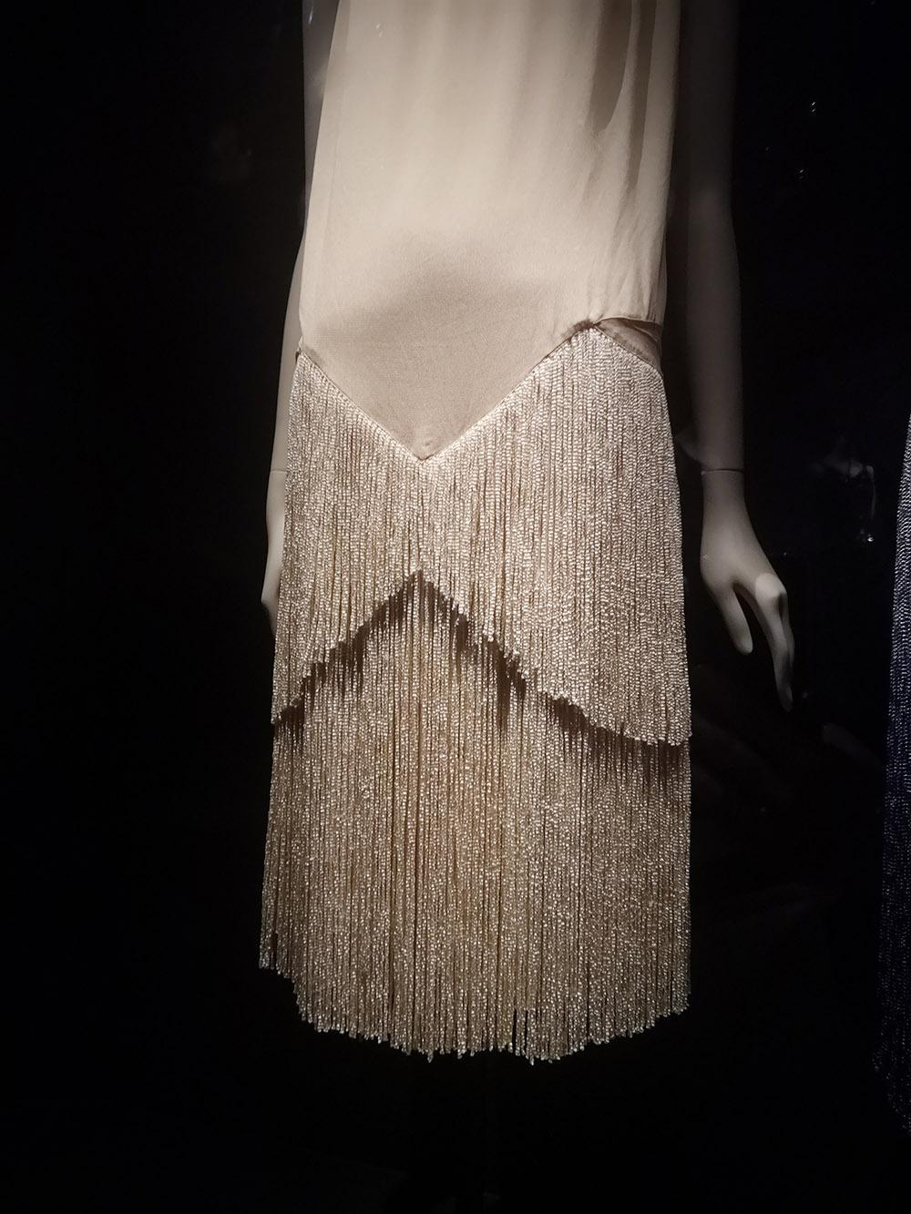 Evening Dress (detail) / 1927 / Paris, Patrimoine de Chanel