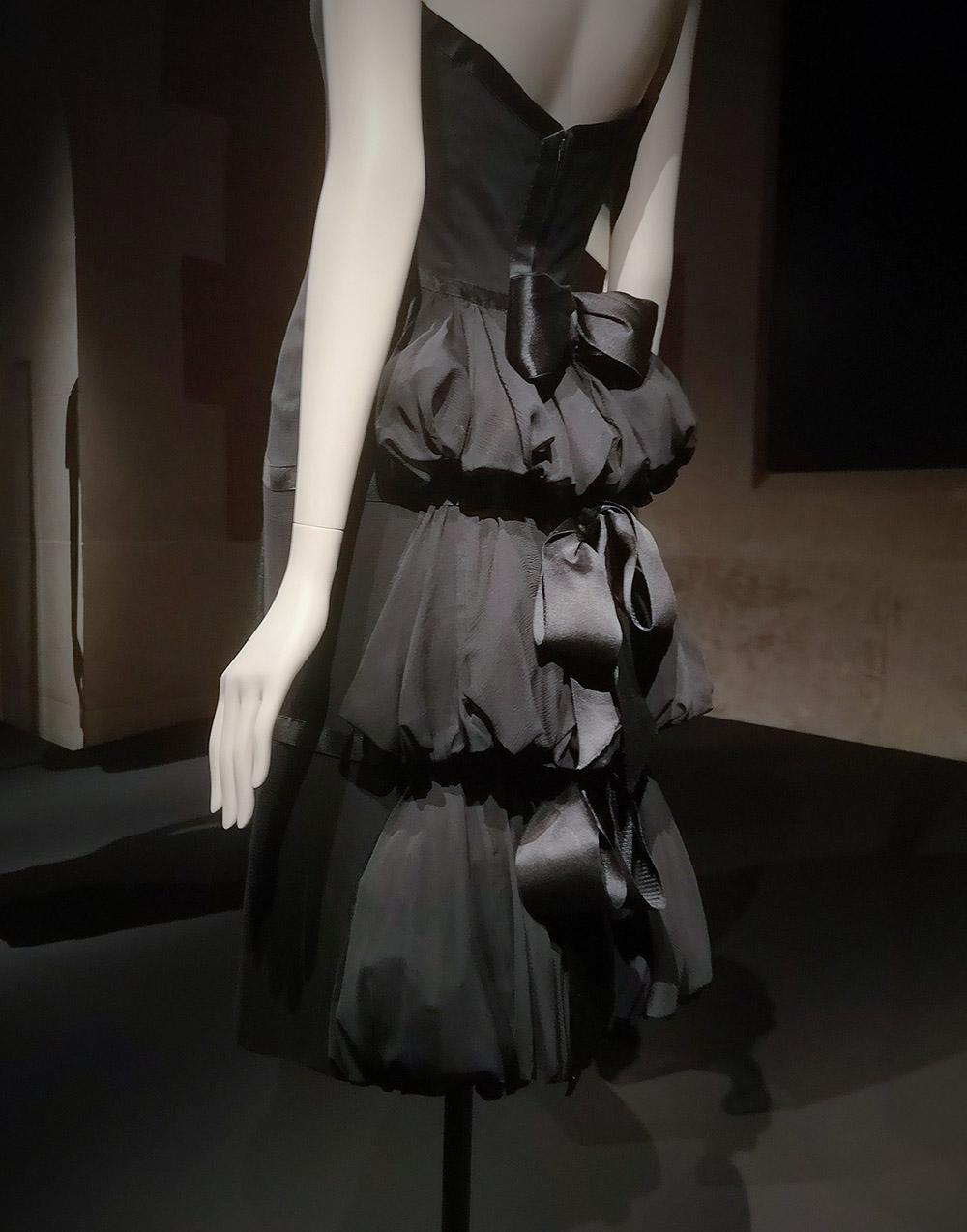 Cocktail dress (Detail) / 1959 / Coco Chanel / Palais Galliera / 2021 / Paris, Patrimoine de CHANEL